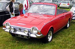 Ford Corsair Convertible reg 1967.JPG