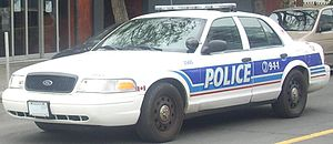 Ottawa Police Service - Ford Crown Victoria Police Interceptor from the Ottawa Police Service.