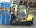 Forklift and pallets (8155244036).jpg