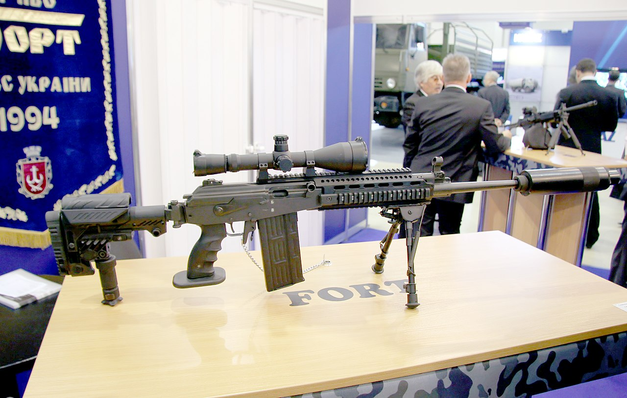 """Снайперов в зоне АТО вооружают винтовками украинского производства: доставлена первая партия """"Форт-301"""", - Минобороны - Цензор.НЕТ 709"""