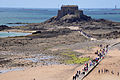 Fort du Petit Bé (Saint-Malo) à marée basse.jpg