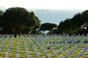 Fort Rosecrans National Cemetery - Image: Fort rosecrans cemetery