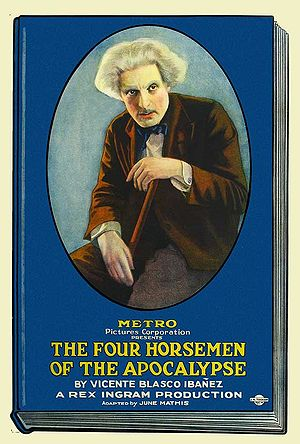 The Four Horsemen of the Apocalypse (film) - Metro Pictures poster for the film (1921)