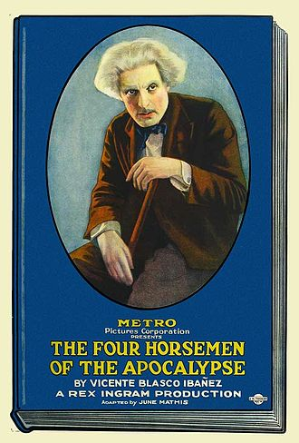The Four Horsemen of the Apocalypse (film) - Theatrical release poster