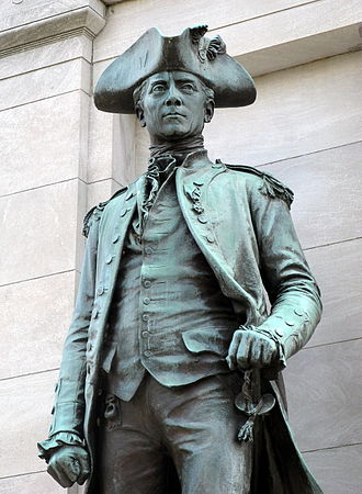 John Paul Jones - John Paul Jones Memorial in Washington, D.C.