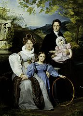 Portrait of the Gaspard Moeremans Family