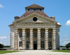 Royal Saltworks at Arc-et-Senans - Main façade of the Royal Saltworks