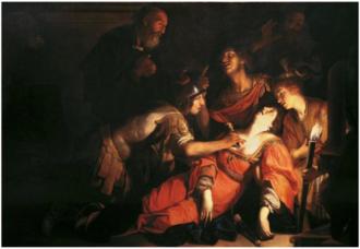 Francesco Rustici - The death of Lucretia