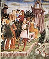 Francesco del Cossa - Allegory of April - Triumph of Venus (detail) - WGA05375.jpg