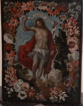 Francisco Camilo - San Juan Bautista en Orla de Flores (private collection)