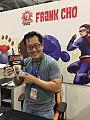 Frank Cho with Garaj Komik 6.jpg