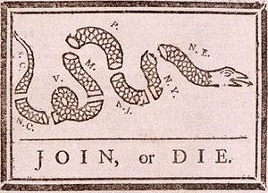 This political cartoon (attributed to Benjamin...