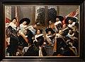 Frans hals, banchetto degli ufficiali della guardia civica di callivermen, 1624-27, 01.jpg
