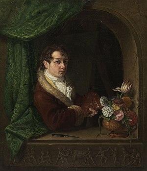 Franz Ludwig Catel - Selfportrait, circa 1810.