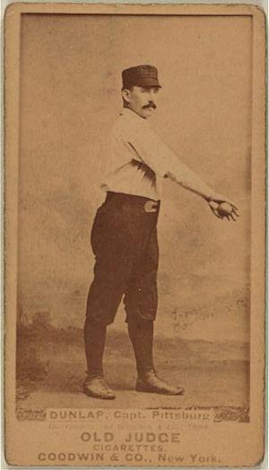 Fred Dunlap - Dunlap baseball card