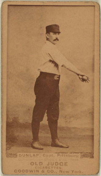 Fred Dunlap - Dunlap baseball card