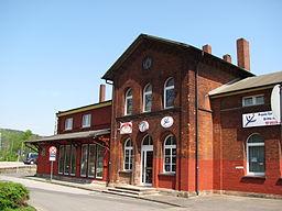 Railway Station, Freden (Leine), Lower Saxony, Germany