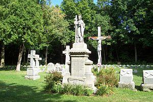 Frederick Katzer - Gravesite at St. Francis Seminary