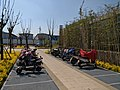 Free Motorbike parking area near Exit 1 of Huangshanlong Station, Xuzhou Metro.jpg