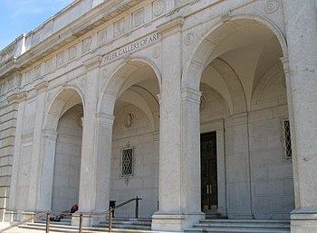 Exterior of the Freer Gallery, a part of the S...
