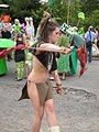 Fremont Solstice Parade 2008 - twirler.jpg
