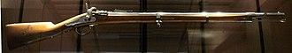 Tabatière rifle - French Tabatière carbine, 1867.