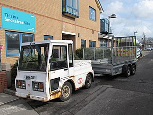 Smith Electric Vehicles - A SEV hospital utility vehicle in England
