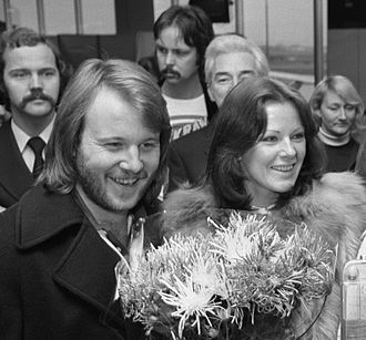 Benny Andersson - Andersson with Lyngstad in 1976