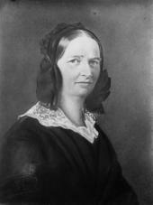 Kerners Frau Friederike, genannt Rickele. Gemälde von Alexander Bruckmann (Quelle: Wikimedia)
