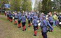 Friluftsgudstjeneste på Eiktunet pinsen 2015 - Fredheim skolekorps II.JPG