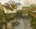 Frits Thaulow - Small town near La Panne, 1905.jpg