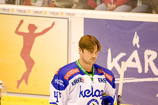 Curtis Fraser Canadian ice hockey player
