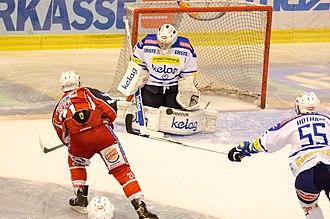 Sport in Austria - Austrian Hockey League match between KAC and VSV