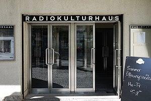 Ö1 - RadioKulturhaus entrance, Vienna