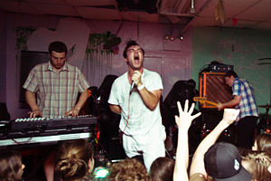 Future Islands - Image: Future islands live