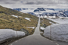 Norwegian county road 55 wikipedia the road on sognefjellet publicscrutiny Choice Image