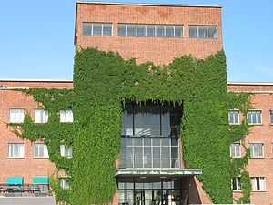 Blindern - Department of Physics, the second building to be erected on the university campus University of Oslo, Blindern.