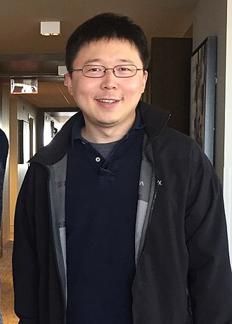 Feng Zhang - Prof. Feng Zhang at the Forbes 30 Under 30 Summit, Boston MA. Oct. 2, 2017