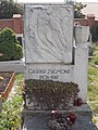 Gáspár Zsigmond sír †1949, 2019 Csorna.jpg