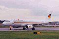 G-BXTA A320-214 Flying Colours MAN 31OCT98 (5858029104).jpg