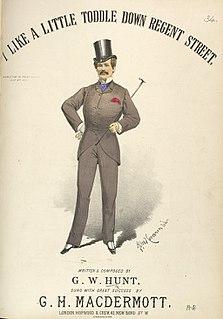 G. H. MacDermott British singer