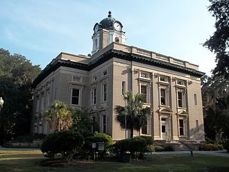 Golden Isles of Georgia - Historic Glynn County Courthouse