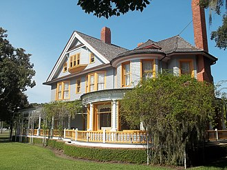 William Rockefeller - Percy Rockefeller's Indian Mound Cottage on Jekyll Island.