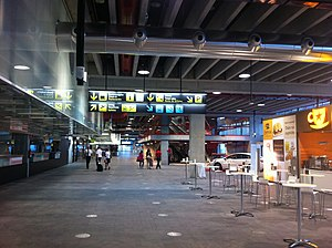 La Palma Airport - Terminal interior