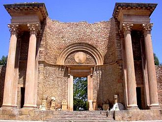 Guelma - The Roman theater of Guelma