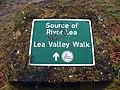 GOC Leagrave to Harpenden 009 Source of River Lea (8547455371).jpg