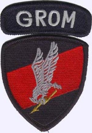 JW GROM - Image: GROM plakietka