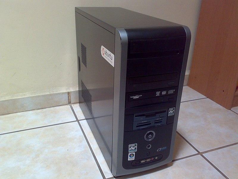 nowy, tani komputer
