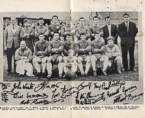 Gainsborough Trinity F.C. - Gainsborough Trinity squad photo for 1966–67