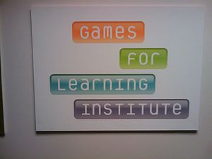 Courant Institute of Mathematical Sciences - The Courant Institute along with Microsoft Research are the founders of the Games for Learning Institute